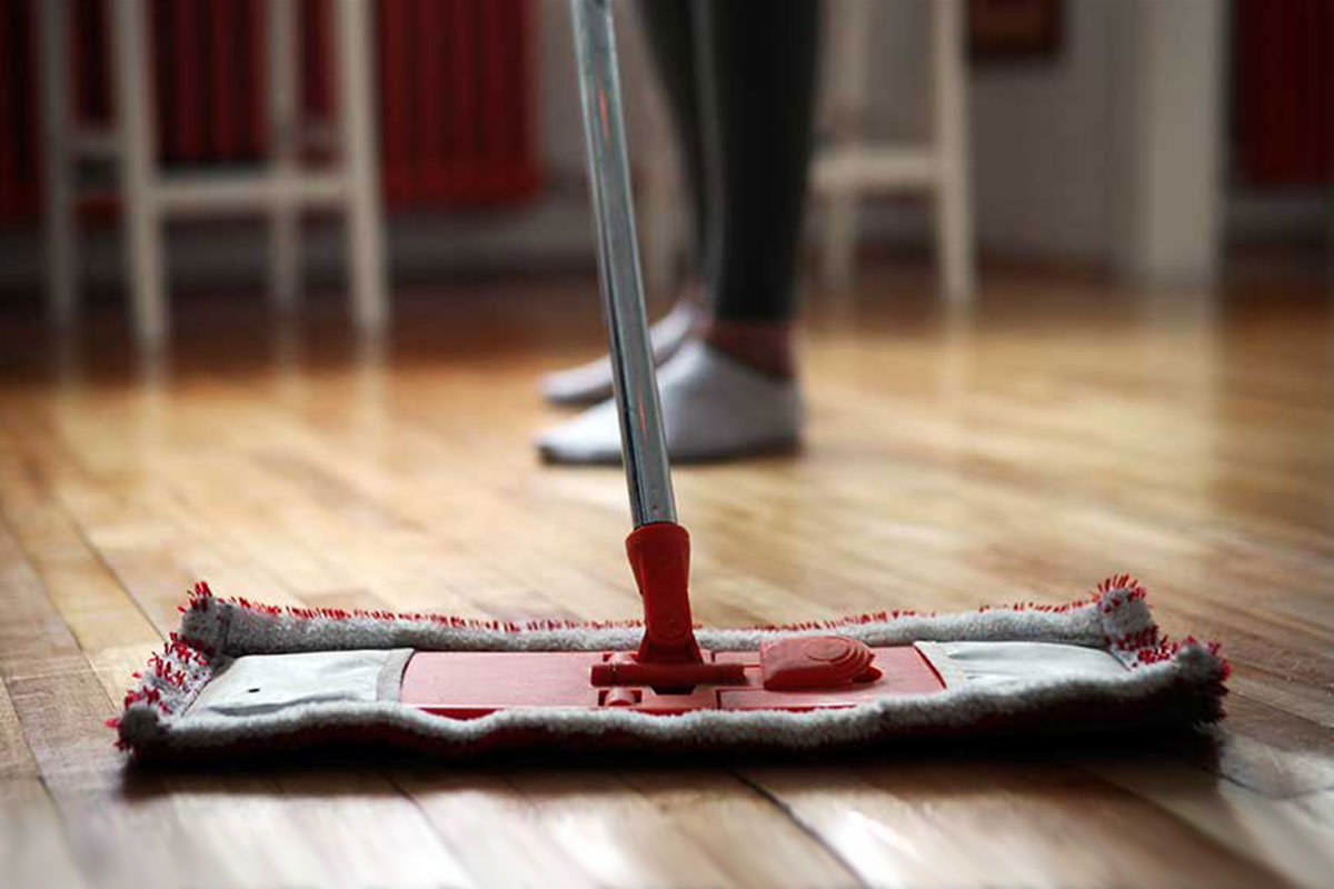 Dust Mop Wood Floor