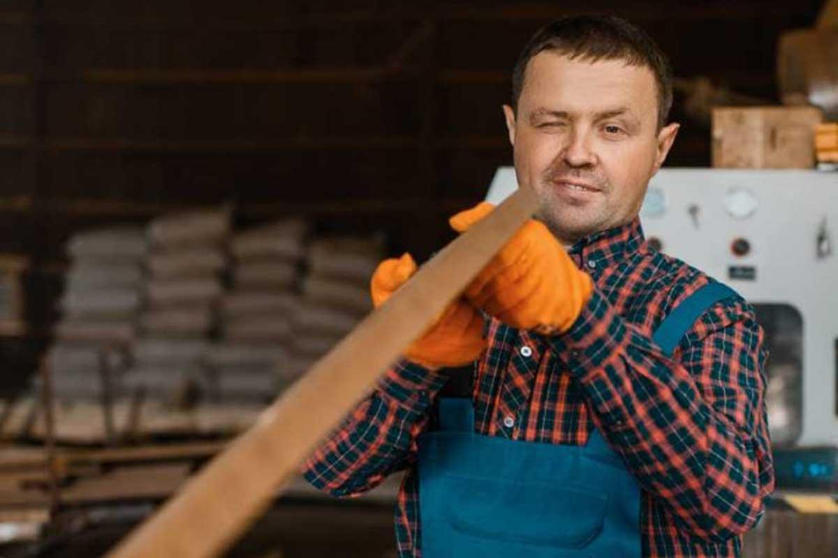 Carpenter Works On Woodworking Machine Lumber Zkzwwg3 683x1024